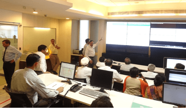 BMTC Officials Visit to Operations Control Center